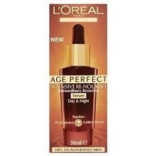 l'oreal age perfect intensive re-nourish serum