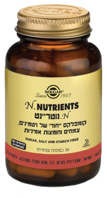 N. נוטריאנט N. Nutrients solgar