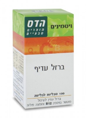 ברזל עדיף Vitamin B12 + Folic Acid 100 Tablets FLORIS הדס