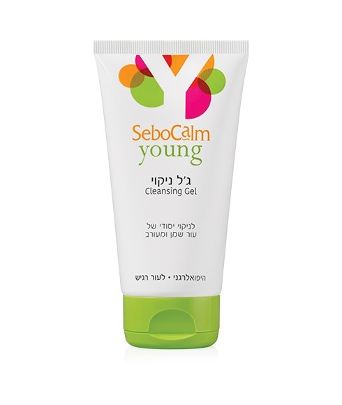 סבוקלם ג'ל ניקוי יאנג Cleansing Gel Young sebocalm