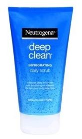 ג'ל גרגירים מרענן ניוטרוג'ינה Deep Clean Invigorating Scrub