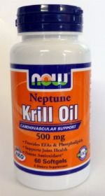 שמן קריל נפטון כמוסות  NKO®- - Neptune Krill Oil now