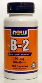Vitamin B2 100mg 100 Ca