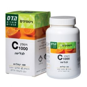 Vitamin C 1000 100 Tablets FLORIS הדס ויטמין סי 1000