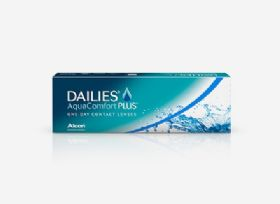Dailies AquaComfort Plus 30 עדשות יומיות Ciba Vision