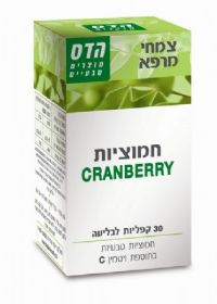 Cranberry 60 Tablets FLORIS הדס