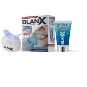 בלאנקס ערכה להלבנת שיניים BLANX WHITE-SHOCK