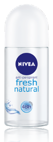 FRESH NATURAL  NIVEA רול און