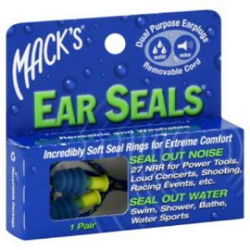 מאקס אטמי אוזניים mack's earplugs