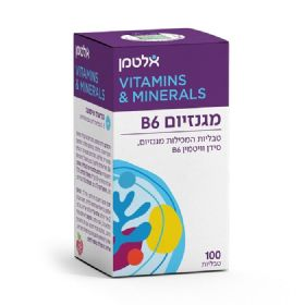 מגנזיום + אלטמן Magnesium with vitamin B6 - B6