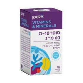 Super Q10 60mg 60 Tablets אלטמן