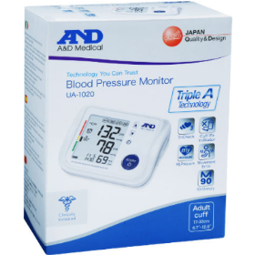 A&D medical מד לחץ דם UA-1020 blood pressure monitor