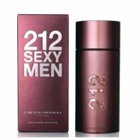 בושם לגבר Carolina Herrera 212 Sexy E.D.T 100ml